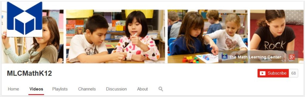 The Math Learning Center YouTube Channel