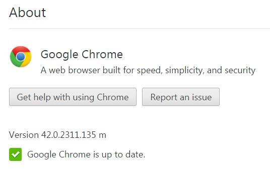 Chrome Update 4