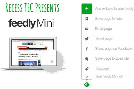 Feedly Mini Chrome Extension