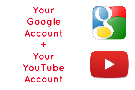 Your Google Account + Your YouTube Account