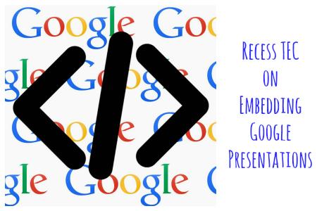 Embed Google Presentations