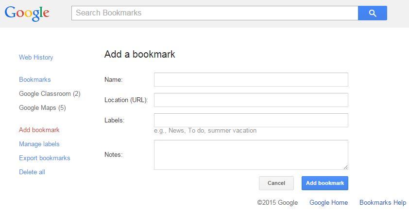 GoogleBookmarks3